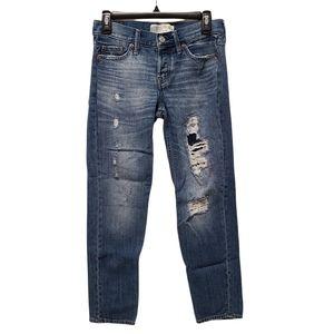 Abercrombie & Fitch Boyfriend Straight Jean 00R